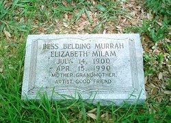 Bess Belding Murrah Elizabeth Milam
