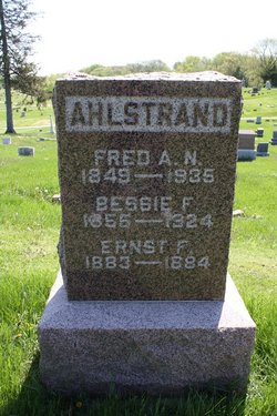 Fritz Alfred Nicholaus Fred Ahlstrand