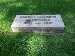 Harriet <i>Hammond</i> McCormick
