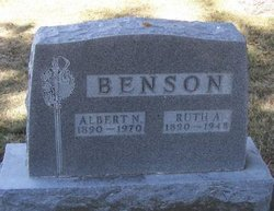 Ruth Alma <i>Thykeson</i> Benson