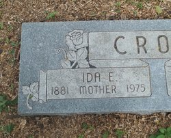 Ida Elzora <i>Hill</i> Crow