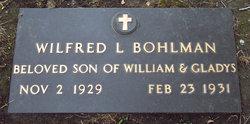 Wilfred Lee Bohlman