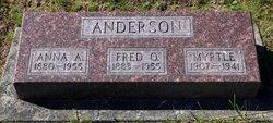 Anna A Anderson