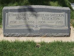 Ethel B <i>Sheldon</i> Borden