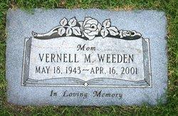 Vernell M Weeden