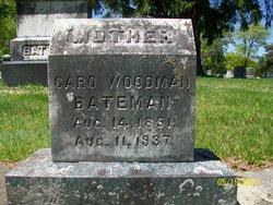 Caro <i>Woodman</i> Bateman