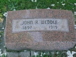 John R Weddle