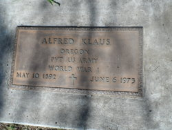 Alfred Fred Klaus