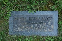 Myrtle <i>Justice</i> Scott