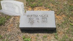 Martha Alice <i>Wallace</i> Dodson