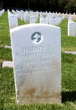 Pvt Harry Smothers