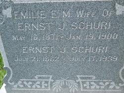 Emilie E. M. <i>Schmeling</i> Schuri