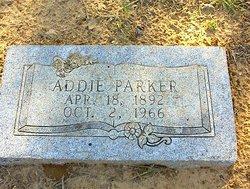 Addie Letha <i>Tarver</i> Parker