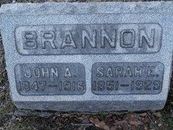 Sarah Elizabeth Sadie <i>DeLong</i> Brannon