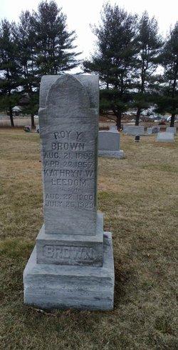 Kathryn W <i>Leedom</i> Brown