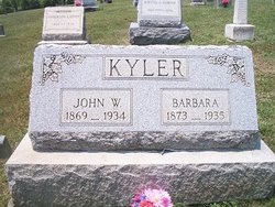 Barbara Katherine <i>Anderson</i> Kyler