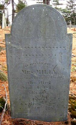 Amelia Milly <i>Fitch</i> Blood