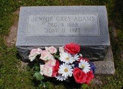 Jennie <i>Grey</i> Adams