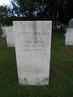 Harriet A. <i>Collamer</i> Johnson