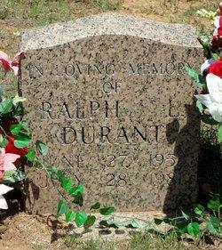Ralph L Durant