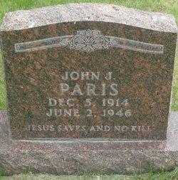 John J Paris