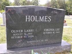 Oliver Larry Holmes