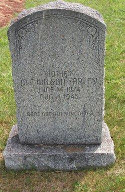 Minnie Frances <i>Rollins</i> Wilson Farley