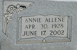 Annie Allene Autry
