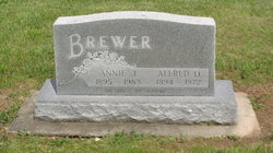 Anna Janette Tommy / Annie <i>Colwell</i> Brewer