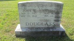 John T Douglass
