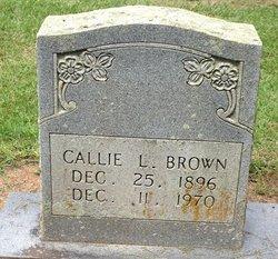 Callie L Brown