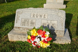 Lucy A <i>Hendrix</i> Rowe