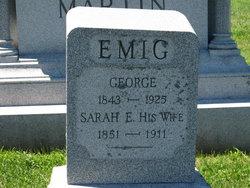 Sarah Emma <i>Eyster</i> Emig