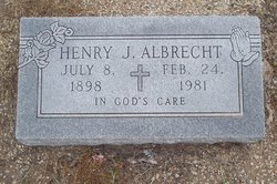 Henry J Albrecht