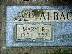Mary <i>Rubio</i> Albacete