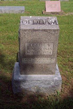 Joseph William Joe Oldham
