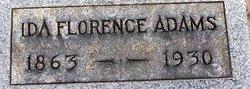 Ida Florence Adams