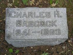 Pvt Charles H Babcock