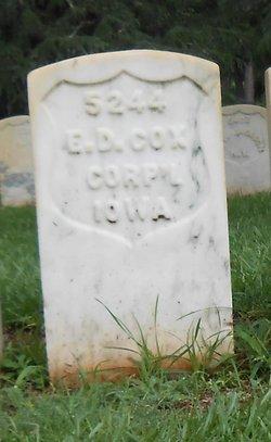 Edmund D Cox