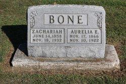 Aurelia Elizabeth <i>Clark</i> Bone