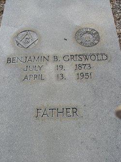 Benjamin B Griswold