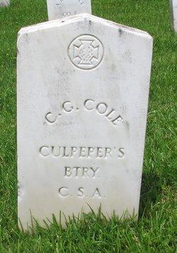 C. G. Cole