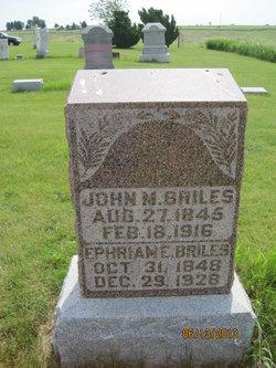 Ephriam E. Briles