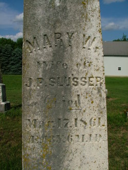 Mary W. Slusser