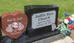 Judith Vern Judi <i>Pratt</i> Church