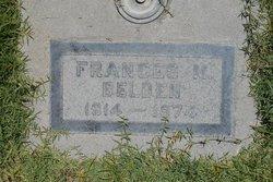 Frances Myra <i>Ward</i> Belden