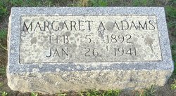 Margaret A <i>Pennypacker</i> Adams