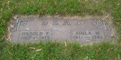 Harold Francis Beal