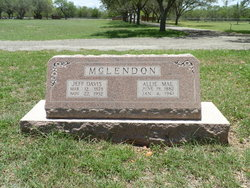 Allie Mae McLendon