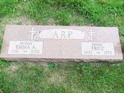 Emma A. <i>Wulburn</i> Arp